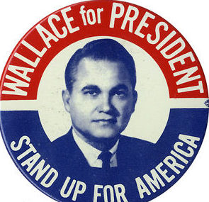 1968Wallace for President button